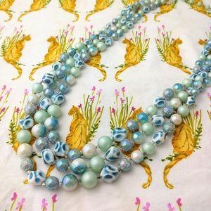 Jewelry - Beach Ocean Sea Faux Pearl Necklace